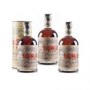 don papa rum don papa   3 bottiglie 70cl in astuccio