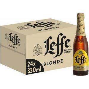 leffe leffe blond birra 33 cl 24pz