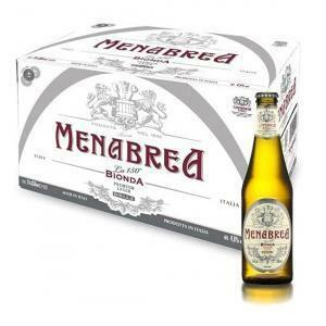 menabrea menabrea birra bionda 33 cl 24pz