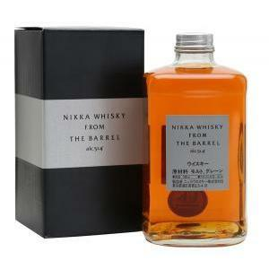 nikka nikka whisky from the barrel double blended 50cl in astuccio