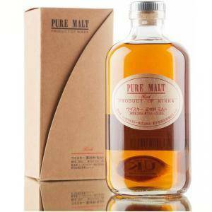 nikka nikka whisky pure malt red blended 50 cl in astuccio