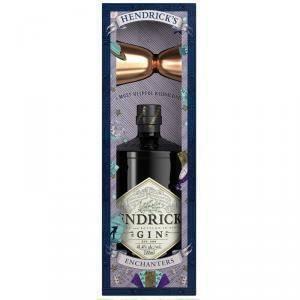 hendrick's hendrick's gin enchanters pack 70 cl + dosatore in rame conf. regalo