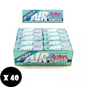 vigorsol vigorsol air action wintergreen senza zucchero (40pz)