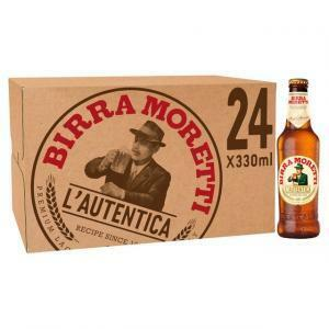 moretti moretti birra premium lager 33 cl 24pz
