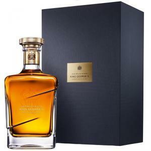 johnnie walker johnnie walker blue label king george v edition  blended scotch whisky (in astuccio)