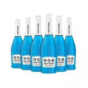 santero santero 958 moscato blue jeans 75 cl 6pz