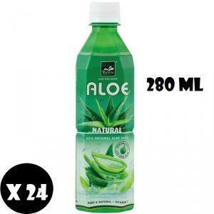 tropical tropical aloe vera natural con vitamina c confezione da 24 mini bottiglie 280 ml