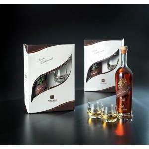 marzadro marzadro camilla liquore di camomilla in grappa confezione con due bicchieri