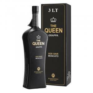 bonaventura maschio bonaventura maschio the queen grappa moscato black 3 lt in astuccio
