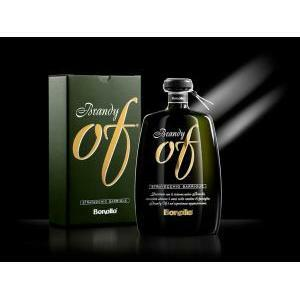 bonollo bonollo of brandy stravecchio barrique 70 cl in astuccio