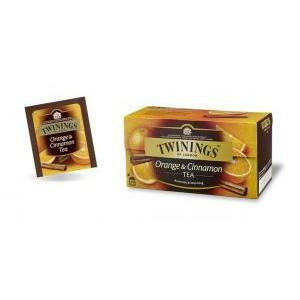 twinings twinings orange & cinnamon tea 25 filtri