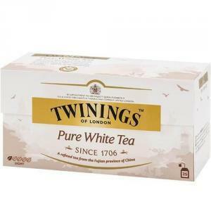 twinings twinings pure white tea 25 filtri