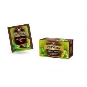 twinings twinings mint & lime tea 25 filtri