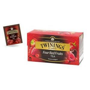 twinings twinings four red fruits tea 25 filtri