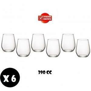 gold plast gold plast bicchiere water in plastica anti opaca anti rottura 390 cc 6pz