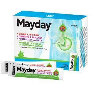 zuccari mayday 18 bustine zuccari aloe vera x2 - gastroprotettore per esofago e stomaco