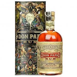don papa rum don papa mt.kanland limited edition | 70 cl | in astuccio con 6 bicchieri