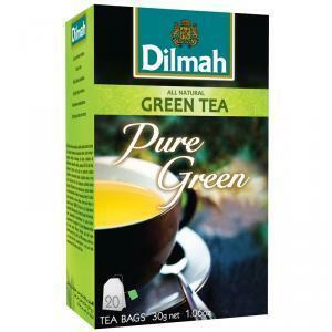 dilmah dilmah pure green tea all natural 20 pz