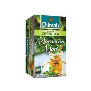 dilmah dilmah green tea moroccan mint 20 pz
