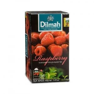 dilmah dilmah raspberry ceylon black tea 20 pz