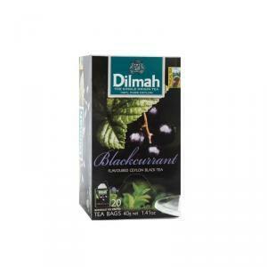 dilmah dilmah blackcurrant ceylon black tea 20 pz