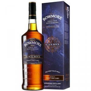 bowmore bowmore islay single malt whisky black rock 1 lt in astuccio