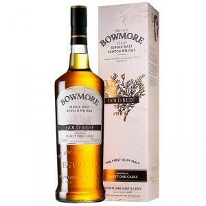 bowmore bowmore islay single malt scotch whisky gold reef 1 lt in astuccio