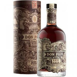 don papa don papa rum rare cask unblended unfiltered 101 proof in astuccio
