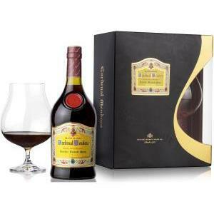 cardenal mendoza cardenal mendoza brandy de jerez solera gran reserva 70 cl + confezione   balloon