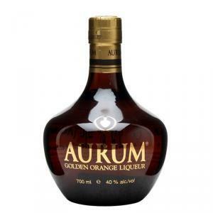 aurum aurum golden orange liqueur 70 cl