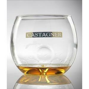 castagner bicchiere originale bolla  marchiato castagner in vetro