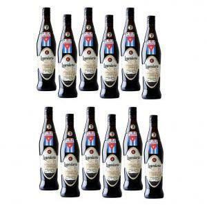 legendario rum legendario elixir de cuba | 7 anni | 12 bottiglie 70cl