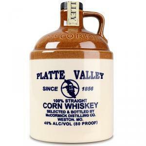 platte valley platte valley corn whiskey 100% straight 70 cl