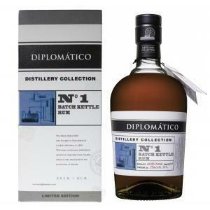 diplomatico diplomatico rum n 1 batch kettle distillery collection 70 cl in astuccio