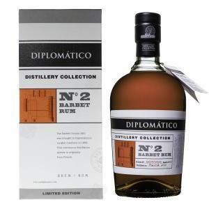 diplomatico diplomatico barbet rum n 2  distillery collection 70 cl in astuccio