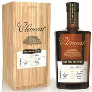 clement clement rhum rare cask collection 2000 in astuccio 50 cl