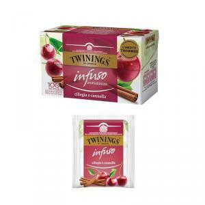 twinings twinings infuso aromatizzato ciliegia e cannella 20pz