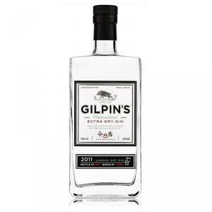 gilpin's gilpin's extra dry gin 8 fine botanicals 70 cl limited edition
