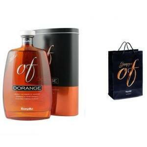 bonollo bonollo grappa dorange 70 cl in astuccio + busta regalo