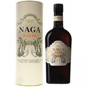 naga naga rum of indonesia double cask aged 70 cl
