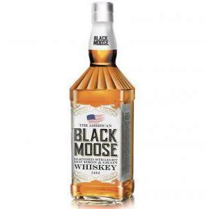 black moose black moose the american whiskey blended bourbon and grain 1 lt