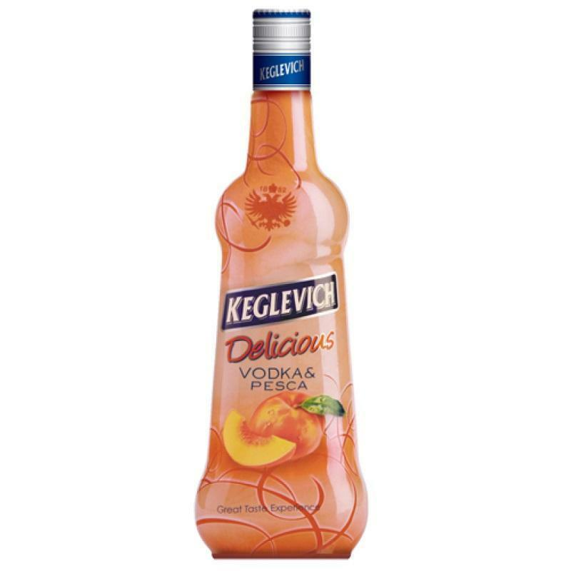 keglevich keglevich vodka pesca 70 cl