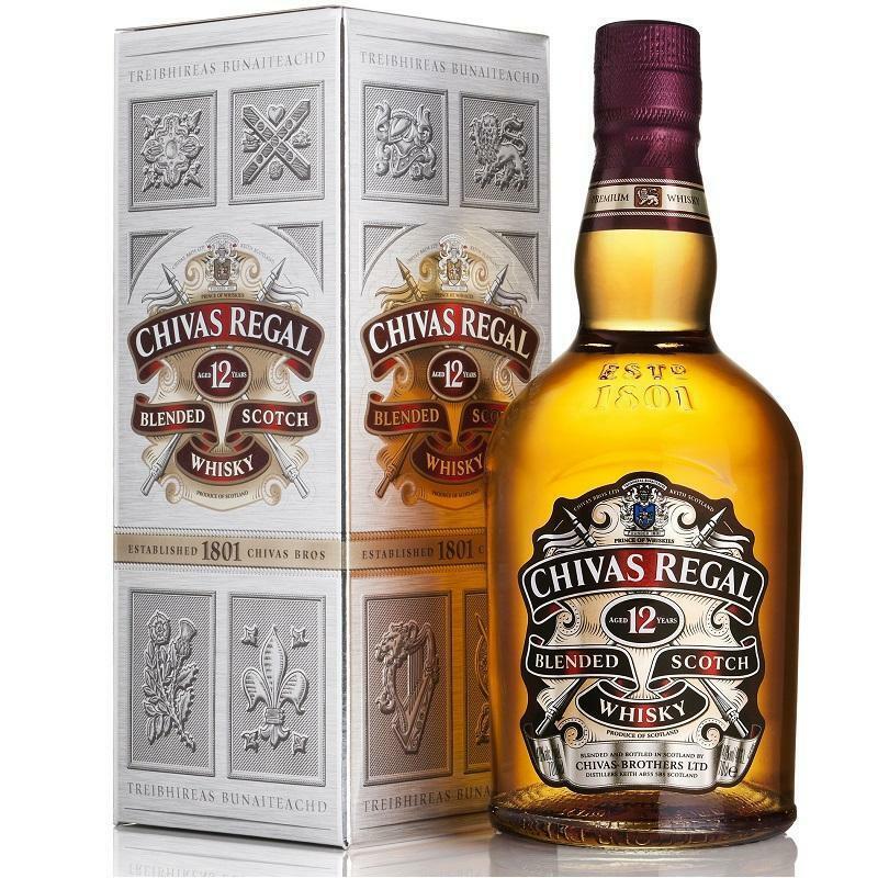 chivas chivas regal scotch whisky 12 anni 70 cl