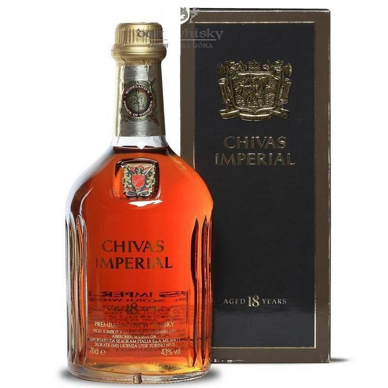 chivas chivas imperial whisky 18 anni 70 cl in astuccio