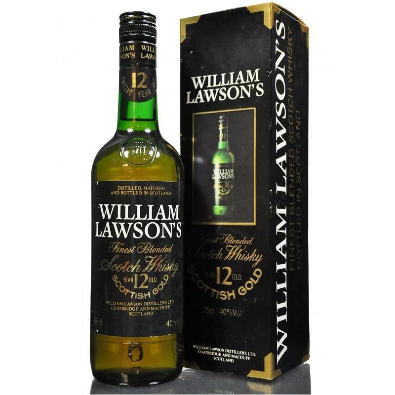 william lawson's william lawson's finest blended scotch whisky 12 anni 75 cl in astuccio
