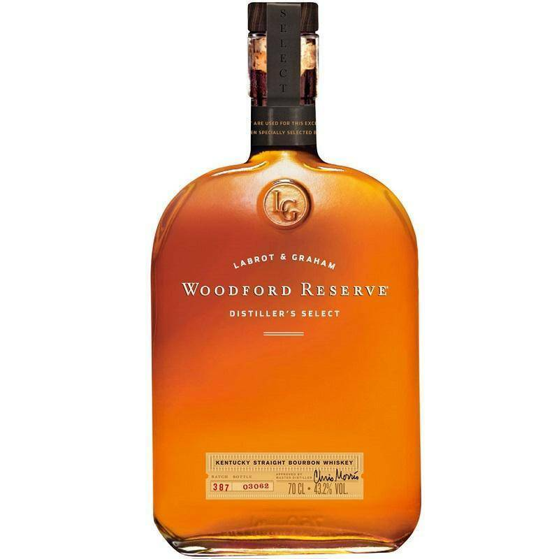 woodford reserve woodford reserve bourbon whiskey kentucky straight distiller's select 70 cl