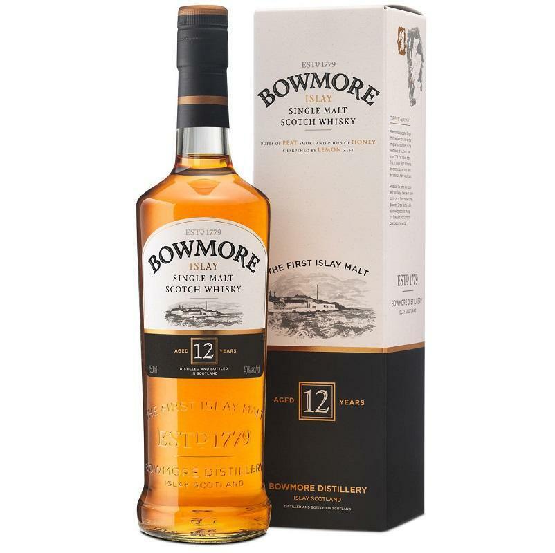 bowmore bowmore islay single malt scotch whisky 12 anni 70 cl in astuccio