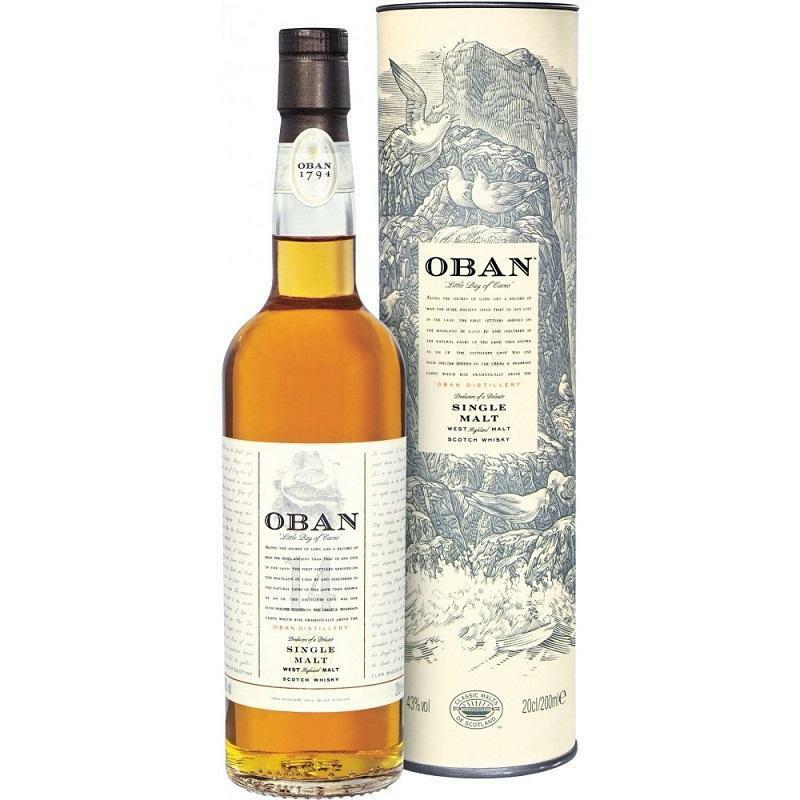 oban oban whisky 14 anni 70 cl in astuccio