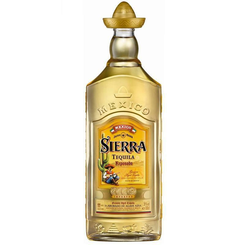 sierra sierra tequila reposando 1 litro