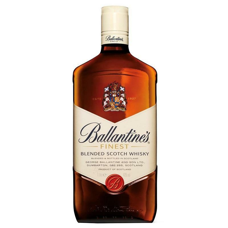 ballantine's ballantine's blended scotch whisky 1 litro